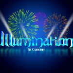 logo illumination in concert